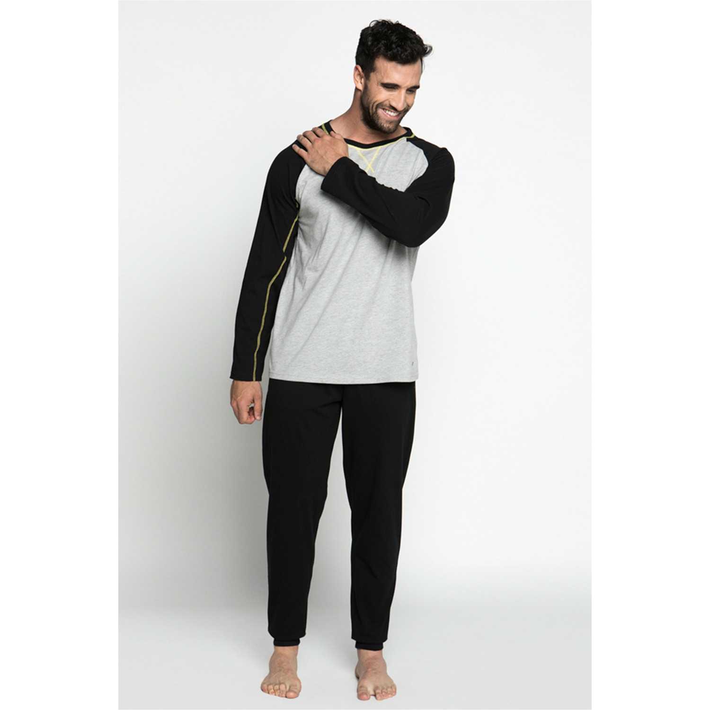 Pijama de Hombre Kayser Negro 67.1067