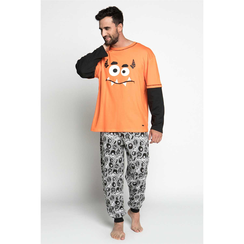 Pijama de Hombre Kayser Naranja 67.1080-nar
