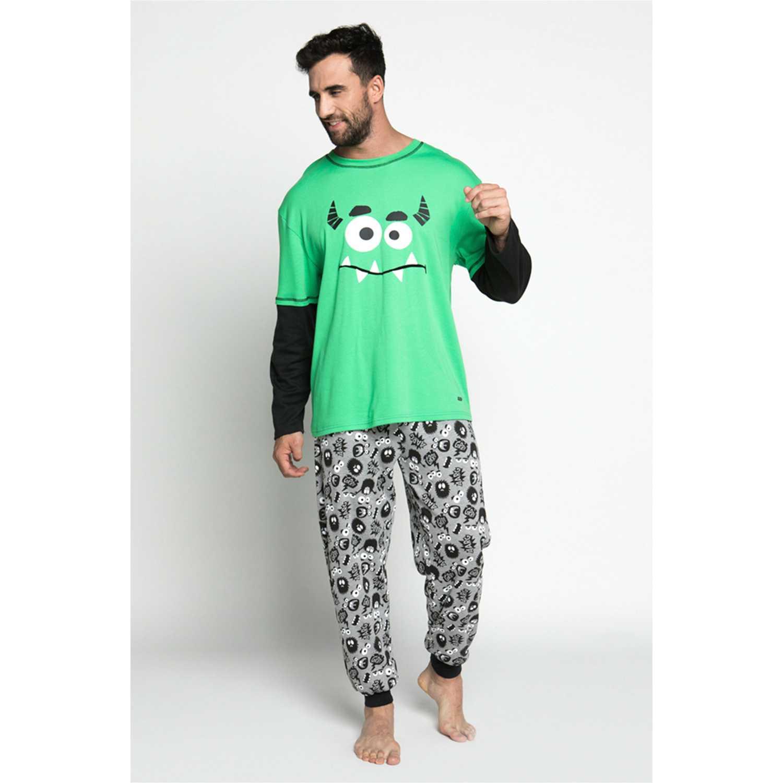 Pijama de Hombre Kayser Verde 67.108