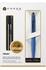 Cross Azul de Mujer modelo estuche tech2  azul+ 2 repuestos Artículos de escritorio Lapicero