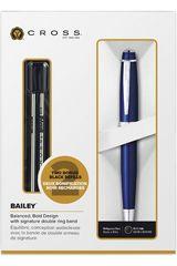 Cross Azul de Mujer modelo boligrafo bailey azul+repues de regal Artículos de escritorio Lapicero