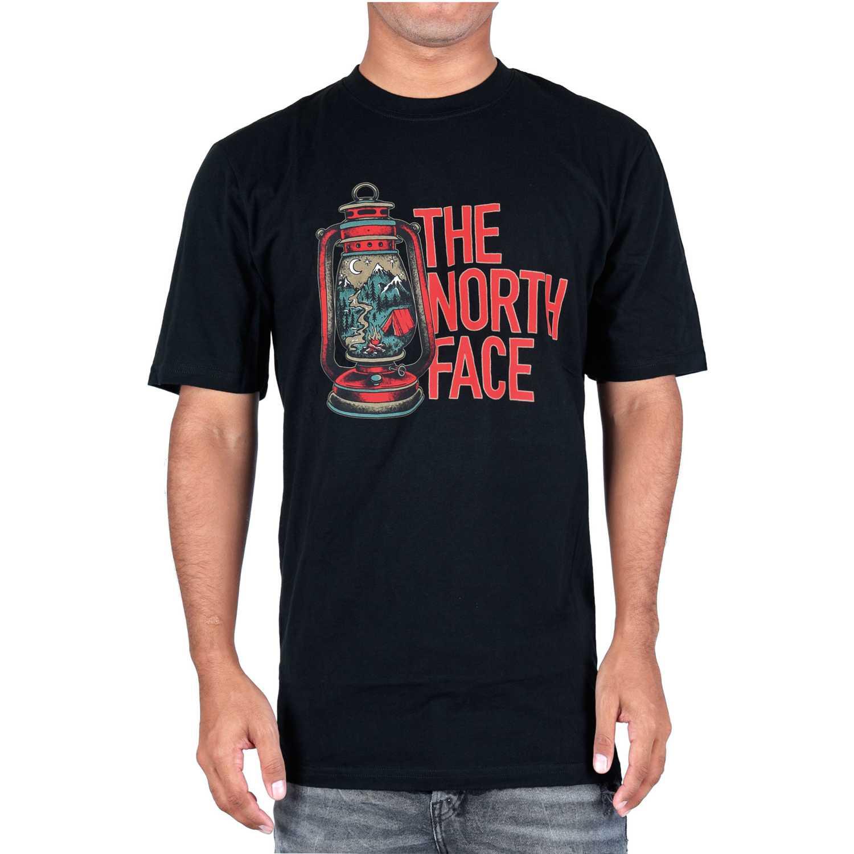 Polo de Hombre The North Face Negro m s/s essentials tee