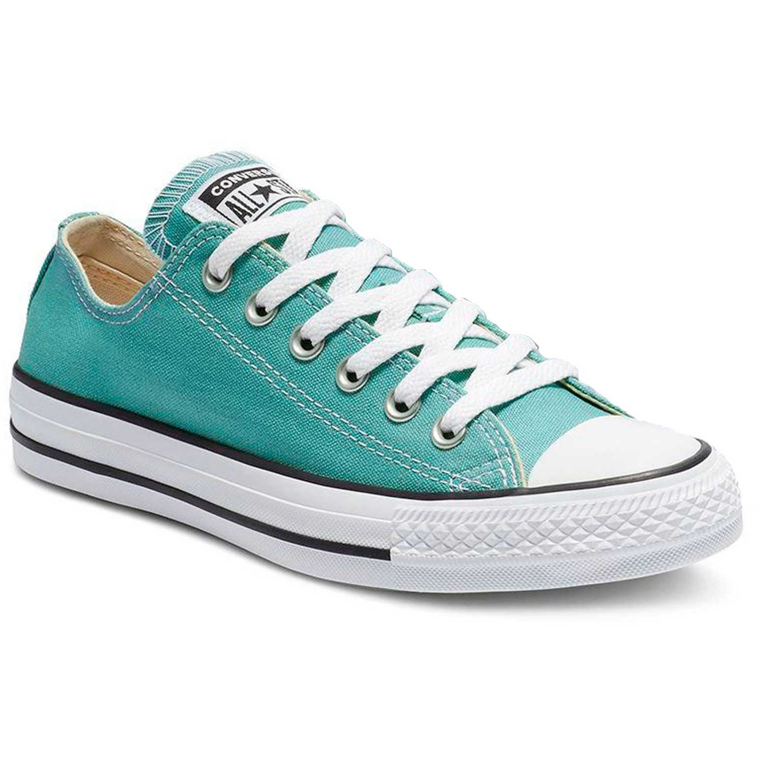 Zapatilla de Jovencita Converse Verde chuck taylor all star seasonal ox