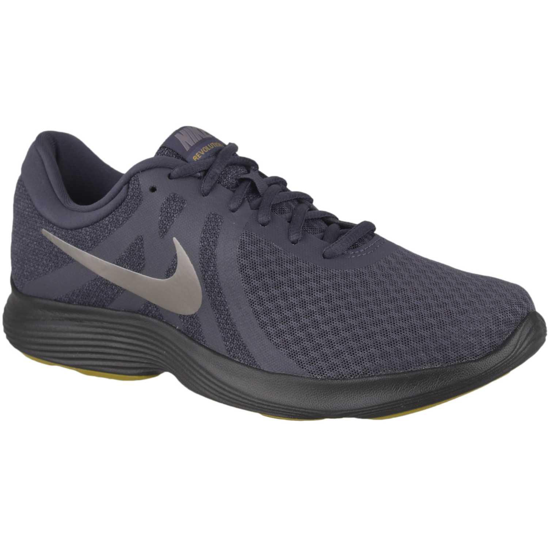 Zapatilla de Hombre Nike Gris / blanco nike revolution 4