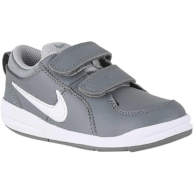 9cc75e8f4 Zapatilla de Niño Nike Plomo blanco pico 4 btv