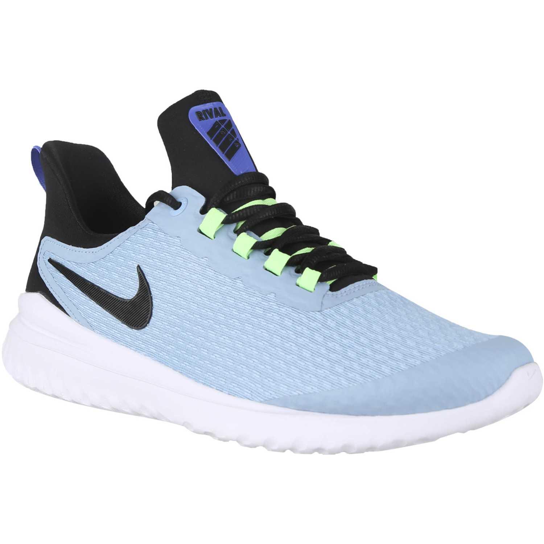Zapatilla de Hombre Nike Celeste / negro nike renew rival