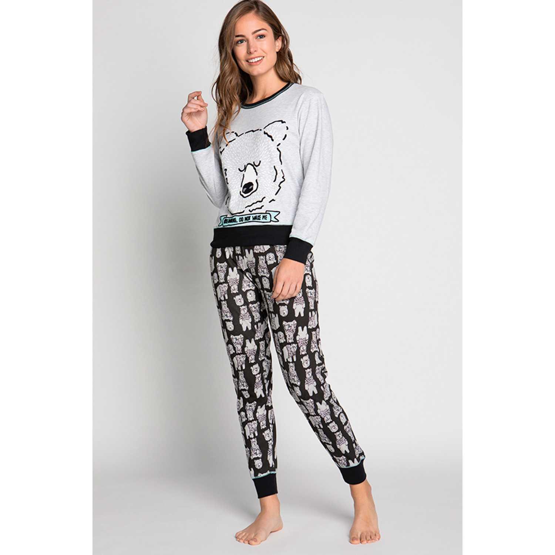 Pijama de Mujer Kayser Negro 60.1186