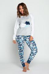 Pijama de Mujer Kayser Azul 60.1209