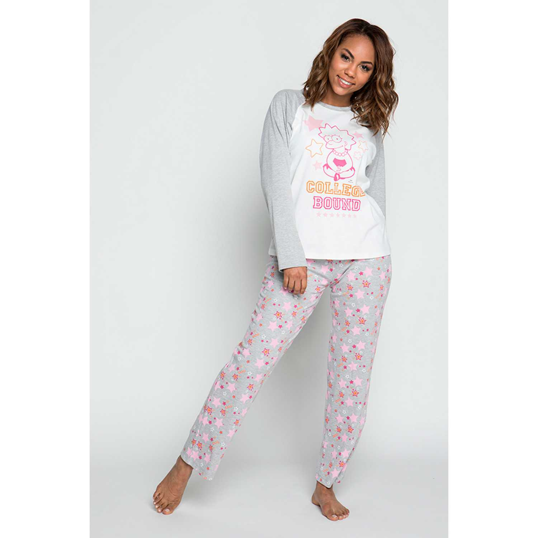 Pijama de Mujer Kayser Gris s6032