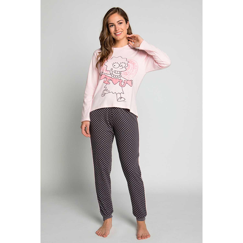 Pijama de Mujer Kayser Rosado s6035