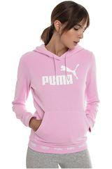 Puma Rosado / blanco de Mujer modelo amplified hoody tr Deportivo Poleras