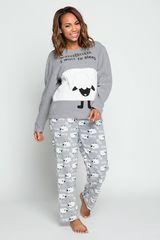 Pijama de Mujer Kayser Gris 60.1211