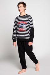 Pijama de Jovencito Kayser Negro 66.1078