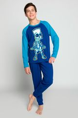 Pijama de Jovencito Kayser Azul s6639-azu