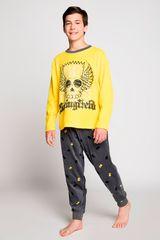 Pijama de Jovencito Kayser Amarillo s6642p