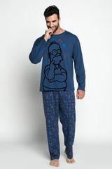 Pijama de Hombre Kayser Azul s6741-azu