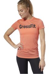 Reebok Naranja de Mujer modelo fef speedwick Deportivo Polos