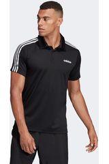 Camiseta de Hombre Adidas Negro d2m 3s polo