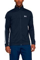 Under Armour Azul / blanco de Hombre modelo sportstyle pique track jacket-nvy Casacas Deportivo