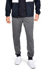 Under Armour Plomo / negro de Hombre modelo sportstyle tricot jogger Deportivo Pantalones