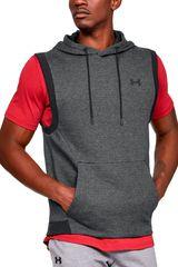 Under Armour Plomo de Hombre modelo unstoppable 2x knit sl hoodie Poleras Deportivo