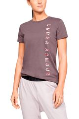 Polo de Mujer Under Armour Gris vertical wm graphic classic crew