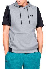 Under Armour Gris / negro de Hombre modelo unstoppable 2x knit sl hoodie Poleras Deportivo