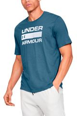 Under Armour Acero de Hombre modelo ua team issue wordmark ss Polos Deportivo