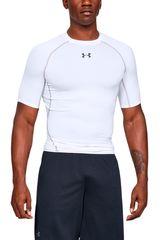 Under Armour Blanco / negro de Hombre modelo ua hg armour ss Deportivo Polos