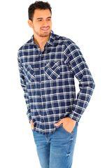 COTTONS JEANS Azul de Hombre modelo roy Camisas Casual