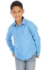 COTTONS JEANS Celeste de Jovencito modelo roberto Camisas
