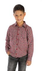 COTTONS JEANS Rojo de Jovencito modelo roberto Camisas