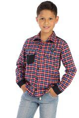 COTTONS JEANS Rojo de Jovencito modelo leo Camisas