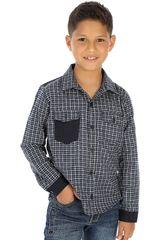 COTTONS JEANS Azul de Jovencito modelo leo Camisas