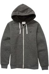 Casaca de Hombre Billabong Negro all day sherpa zip