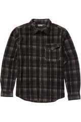 Camisa de Hombre Billabong Negro furnace flannel