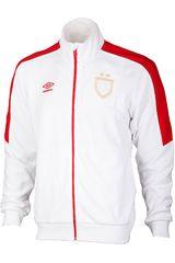 Casaca de Hombre Umbro Blanco / rojo sash walkout jacket