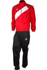 Buzo de Hombre Umbro Rojo / negro sash tricot tracksuit