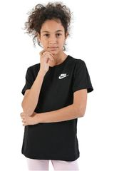 Nike Negro de Niña modelo g nsw tee emb swoosh Polos Deportivo