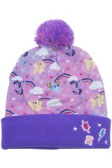 My Little Pony Lila de Niña modelo gorro invierno my little p0ny Gorros