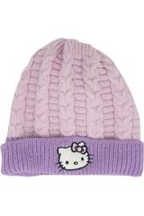 Hello Kitty Rosado/lila de Niña modelo gorro invierno hello kitty Gorros