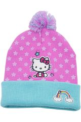 Hello Kitty Rosado / celeste de Niña modelo gorro invierno hello kitty Gorros