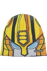 Transformers Azul / amarillo de Niño modelo gorro invierno transformers Gorros Casual