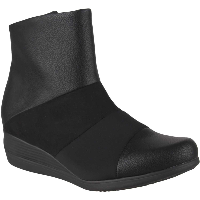 Botín Cuña de Mujer Piccadilly Negro botin  117031-9-4