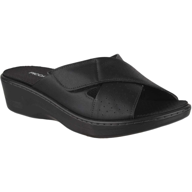 Sandalia Cuña de Mujer Piccadilly Negro sandalia  568014-9-2