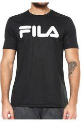 Fila Negro de Hombre modelo camiseta masc. fila letter train Polos Deportivo
