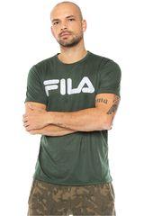 Fila Verde de Hombre modelo camiseta masc. fila letter train Polos Deportivo