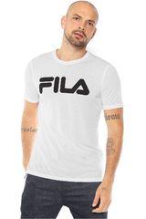 Fila Blanco de Hombre modelo camiseta masc. fila letter train Polos Deportivo