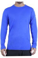 Fila Azul de Hombre modelo m/l masc. fila basic sunprotec Deportivo Polos