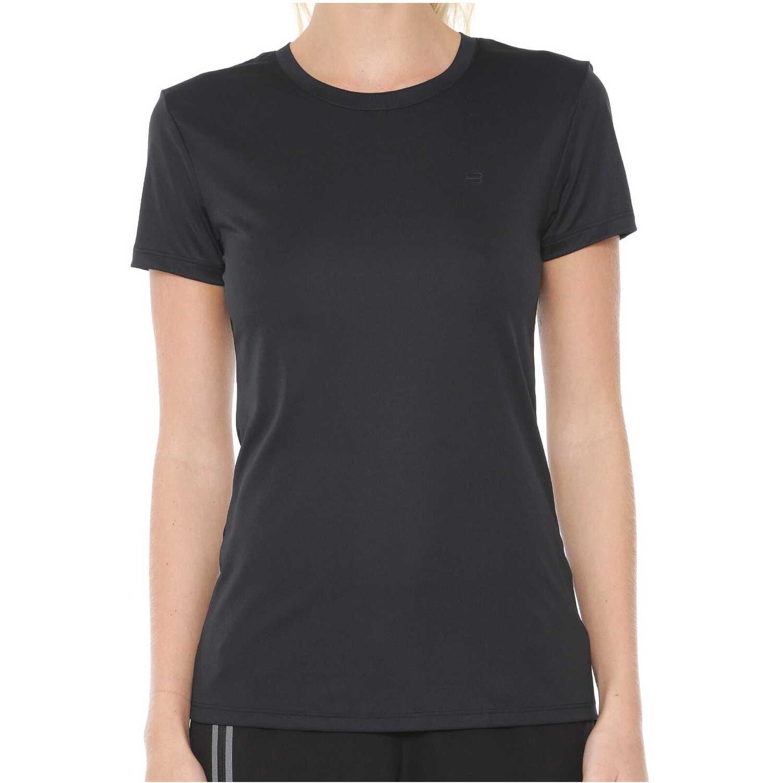 Polo de Mujer Fila Negro camiseta fem. fila floating f